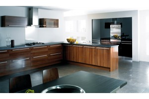 Reflection Walnut & Black Gloss